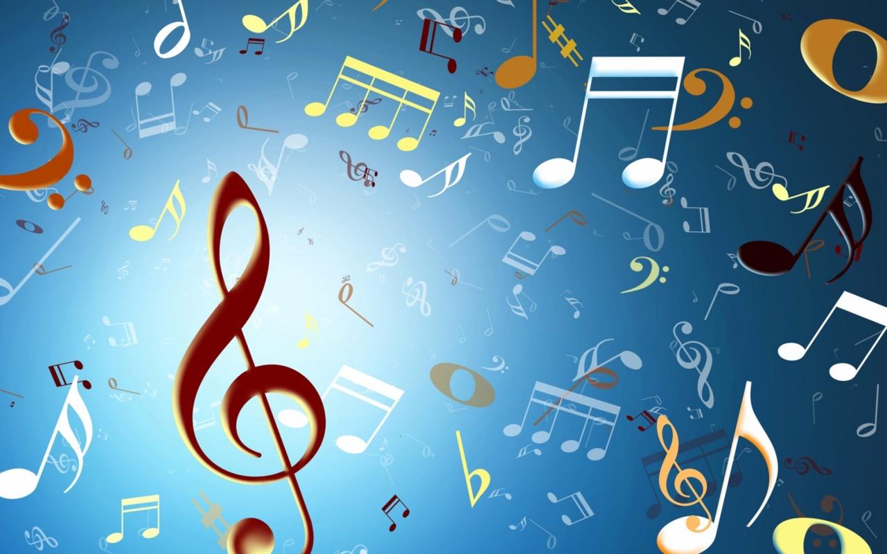 símbolo de musica