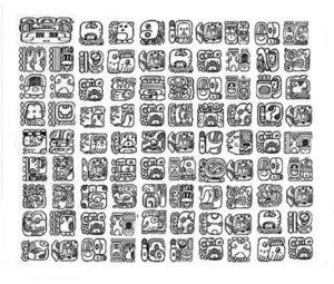 simbolos-maias-escrita