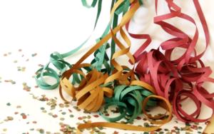Confete e serpentina