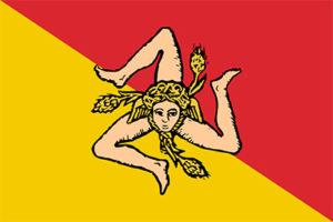 Bandeira da Sicília